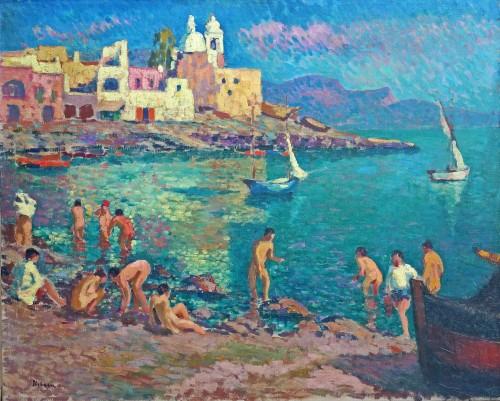 Napoli by Alexandre Urbain (1875-1953)