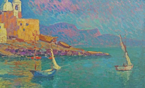Paintings & Drawings  - Napoli by Alexandre Urbain (1875-1953)