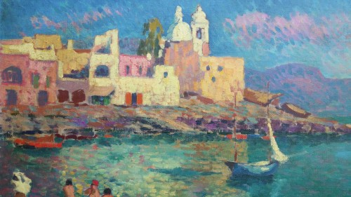 Napoli by Alexandre Urbain (1875-1953) -