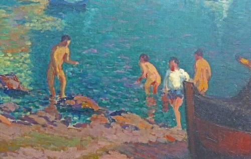 Napoli by Alexandre Urbain (1875-1953) - Art nouveau