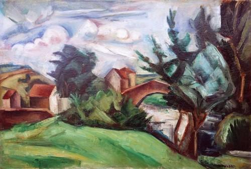 Cubist Landscape - A.Favory (1888-1937)