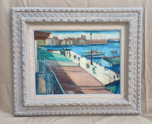 The port of Toulon - Jean Berque (1896-1954) -