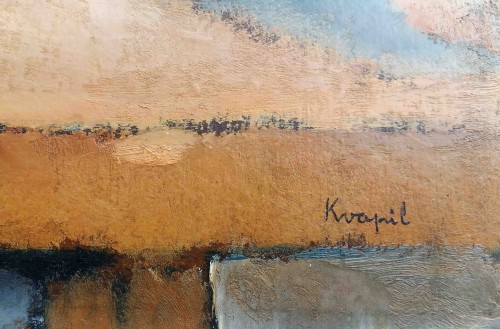 Still life - C.Kvapil (1884-1957) - Paintings & Drawings Style Art Déco