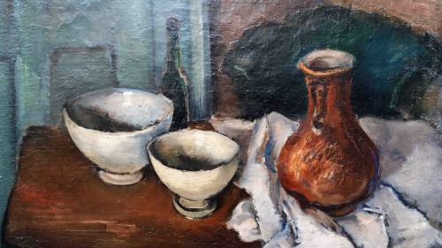 Still Life - Erich Hartmann (1886-1974) - Paintings & Drawings Style Art Déco
