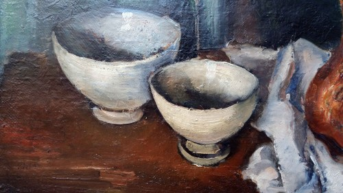 Paintings & Drawings  - Still Life - Erich Hartmann (1886-1974)