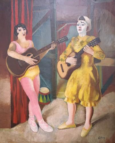 François Fratellini By A.Fillon (1900-1974)