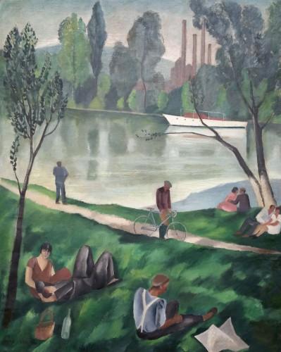 Sunday by Jean Berque (1896-1954)