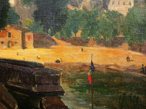 Paris - Alexandre Urbain (1875-1953) - Paintings & Drawings Style Art Déco