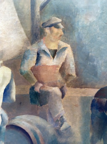 Paintings & Drawings  - Sailors - John Barber (1898-1965)
