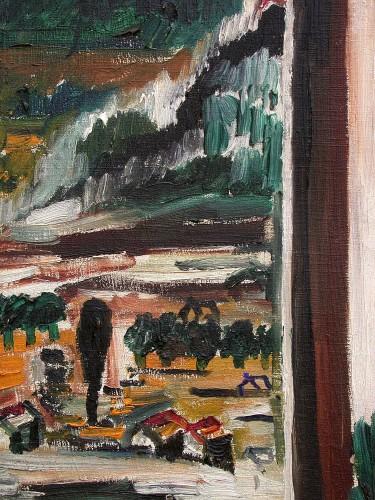 Paintings & Drawings  - Cadière d'Azur -  Jean Du Marboré (1896-1933)