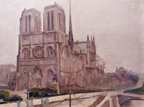 Notre Dame - Maurice Asselin (1882-1947) -