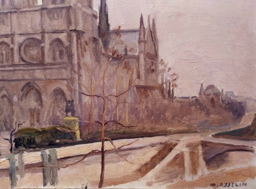20th century - Notre Dame - Maurice Asselin (1882-1947)