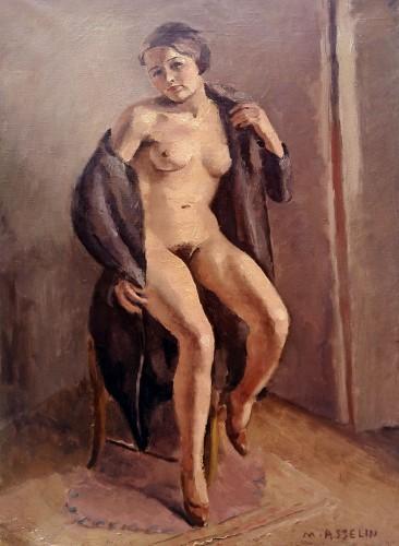 Nude - Maurice Asselin (1882-1947)