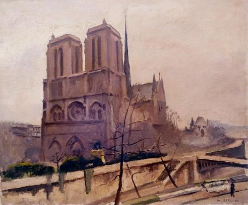 Notre Dame de Paris- Maurice Asselin (1882-1947)