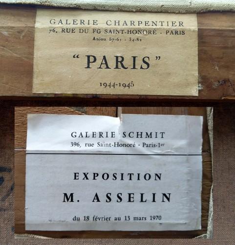 Notre Dame de Paris- Maurice Asselin (1882-1947) -