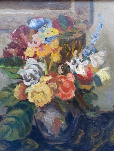 Flowers - Adolphe Feder (1886-1943) - Paintings & Drawings Style Art Déco