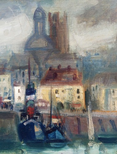 Paintings & Drawings  - Honfleur - Max Band (1900-1974)