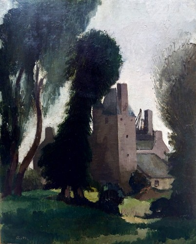 The Castle - André Mare (1885-1932)