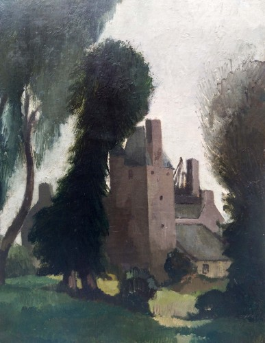 The Castle - André Mare (1885-1932) - Paintings & Drawings Style Art Déco