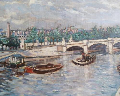 Concorde - Gerhard Von Haniel (1888-1955) - Paintings & Drawings Style Art Déco