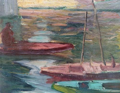 Paris - R.M.Limouse (1894-1990) - Paintings & Drawings Style Art Déco