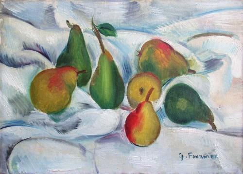 Seven Pears - Gabriel Fournier (1893-1963)
