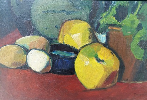 Still Life - Lucien Mainssieux (1885-1958) - Paintings & Drawings Style Art Déco