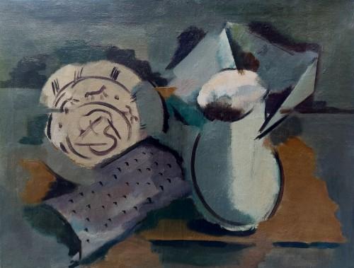 Cubist Still Life - Fritz Mühsam (1880 -1946)