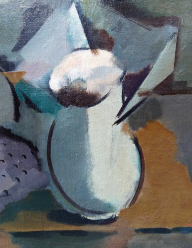 Paintings & Drawings  - Cubist Still Life - Fritz Mühsam (1880 -1946)