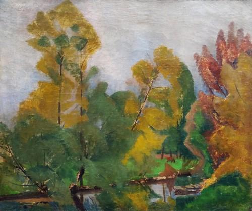 Lansscape - Sonia Lewitska (1882-1937)