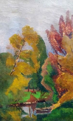 Lansscape - Sonia Lewitska (1882-1937) - Art Déco