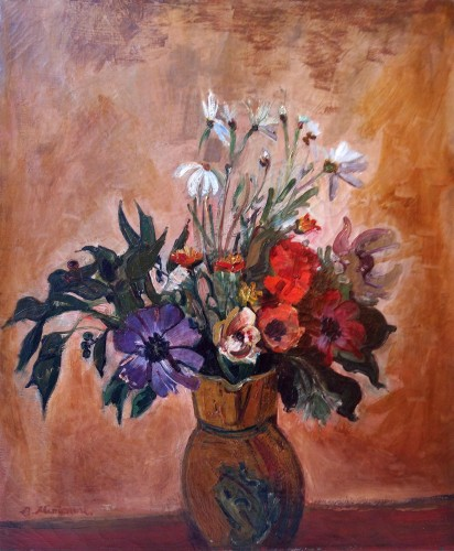 Flowers - Abraham Mintchine (1898-1931)
