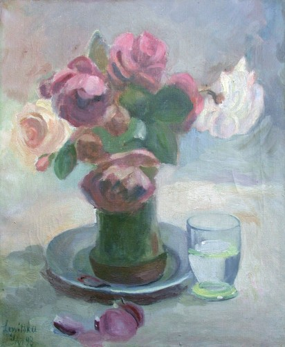 Roses - Sonia Lewitska (1882-1937)