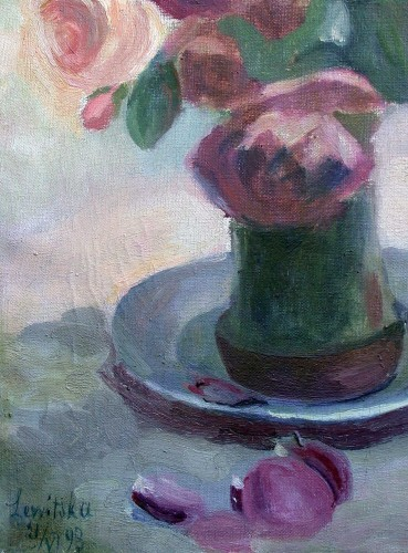 Roses - Sonia Lewitska (1882-1937) - Paintings & Drawings Style Art Déco