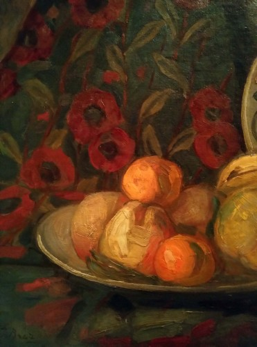 Still Life - Ossip Braz (1873-1936) - Paintings & Drawings Style Art Déco