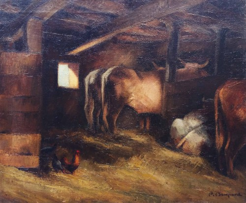 The stable - Pierre Bompard (1890 –1962)
