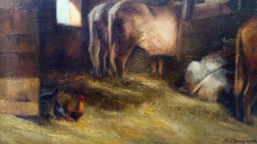 20th century - The stable - Pierre Bompard (1890 –1962)