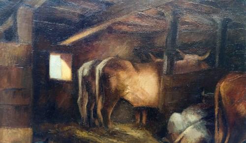 The stable - Pierre Bompard (1890 –1962) - Art Déco