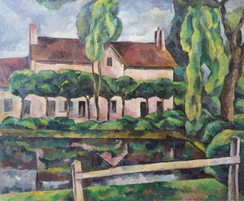 Vouzeron (18) - Eugène Corneau (1894-1976)