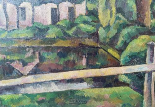 Paintings & Drawings  - Vouzeron (18) - Eugène Corneau (1894-1976)