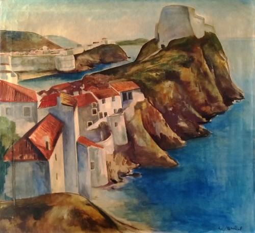 Dubrovnik - Willy Jaeckel (1888-1944)