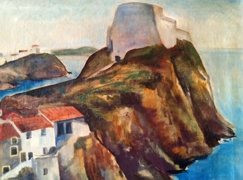 Dubrovnik - Willy Jaeckel (1888-1944) - Tableaux et dessins Style Art Déco