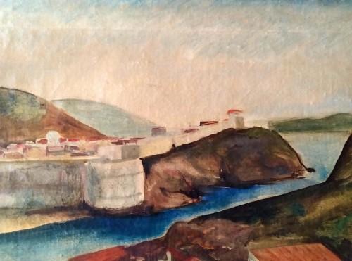 Paintings & Drawings  - Dubrovnik - Willy Jaeckel (1888-1944)