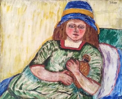 Girl - Jan Verhoeven (1870-1941)