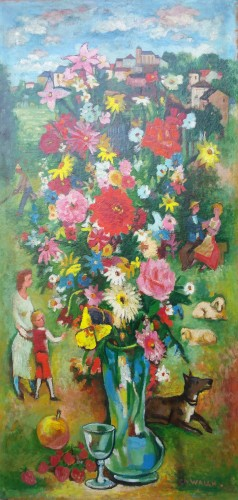 Country bouquet - Charles Walch (1896-1948)