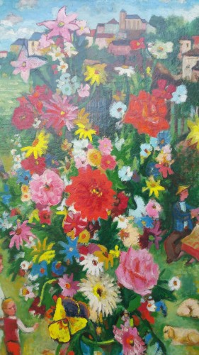 Paintings & Drawings  - Country bouquet - Charles Walch (1896-1948)