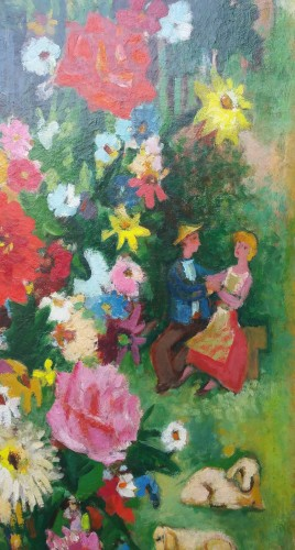 Country bouquet - Charles Walch (1896-1948) -
