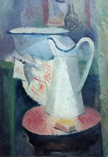 Still Life with Pitcher - Fernand Labat (1889-1959)