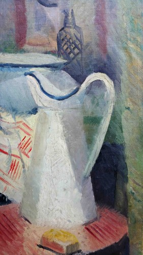 Still Life with Pitcher - Fernand Labat (1889-1959) - Paintings & Drawings Style Art Déco
