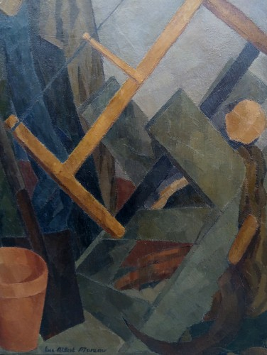Garden tools - Luc Albert Moreau (1882-1948) - Paintings & Drawings Style Art Déco